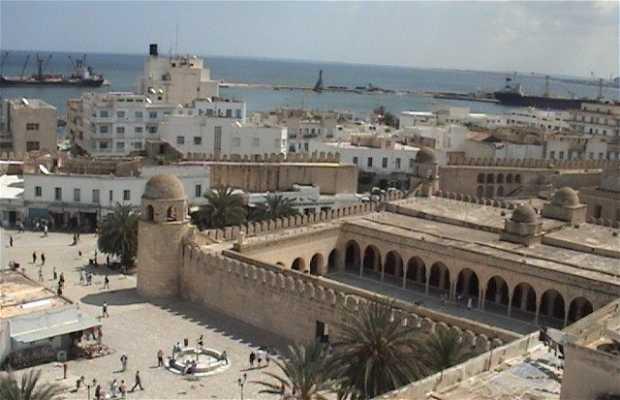 La vue panoramique de Sousse