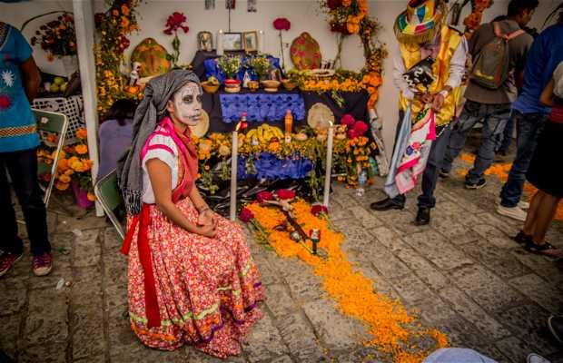 Concurso de altares del Día de Muertos