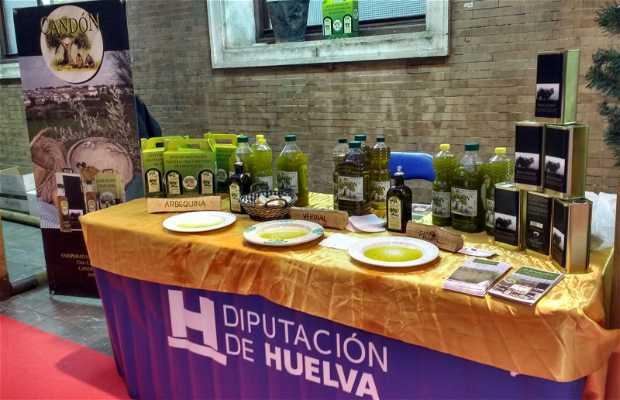 Muestra de Aceite de Oliva y Conservas de la Provincia de Huelva