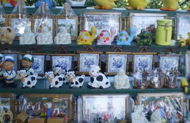 Puestos de artesanías