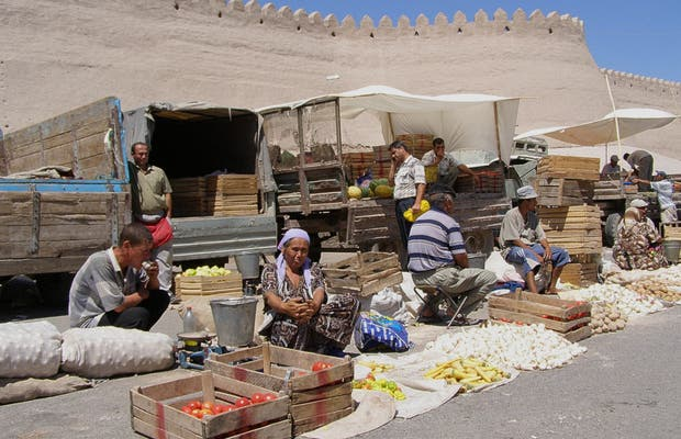 Market of Khiva