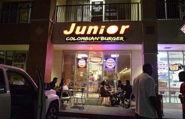 Junior Colombian Burger