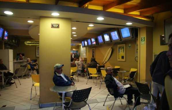 Bar Jockey Club del Peru, Lima, Peru