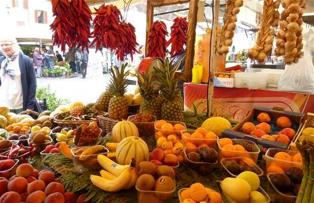 Mercado de Campo de' Fiori