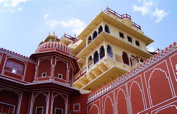 City Palace - Palácio de Jaipur