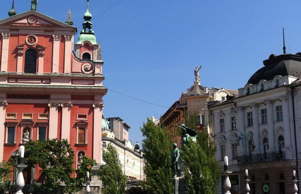 Centro Histórico de Ljubljana