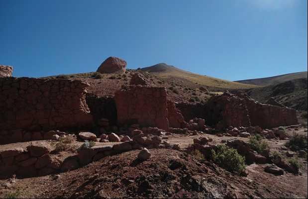 Les ruines du village Machuca