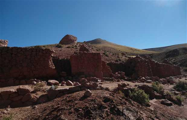 Ruinas del pueblo Machuca