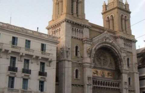Cattedrale di Saint-Vincent-de-Paul a Tunisi