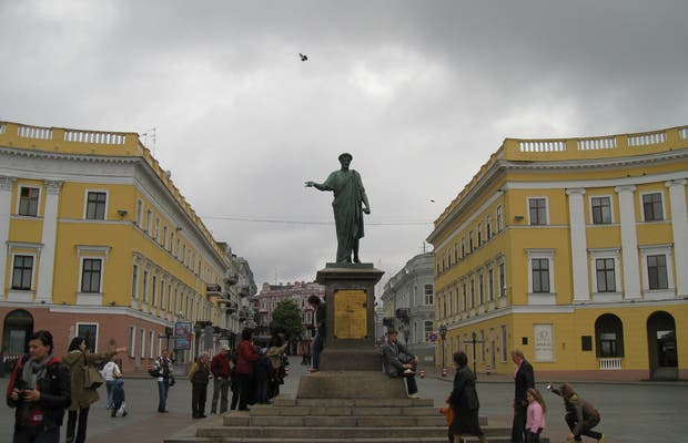 Monument au Duc de Richelieu à Odessa