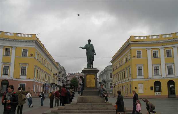 Monument to the Duke de Richelieu in Odessa