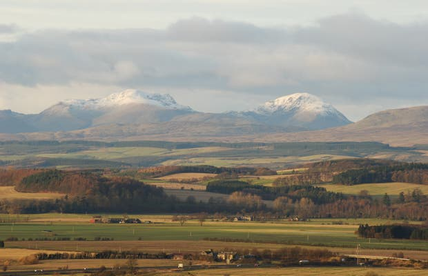 Montañas de Stirling