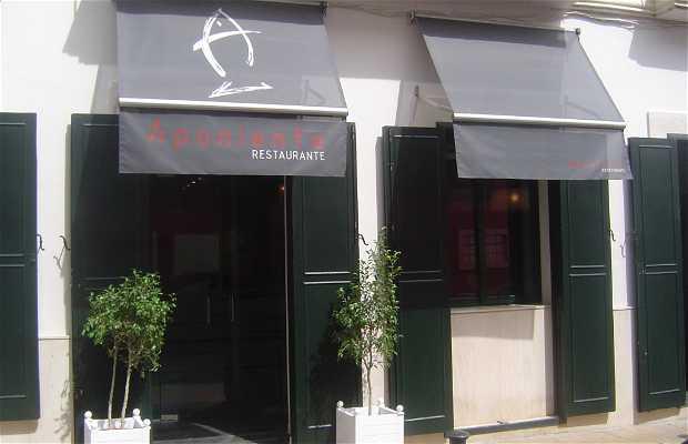 Aponiente Restaurant
