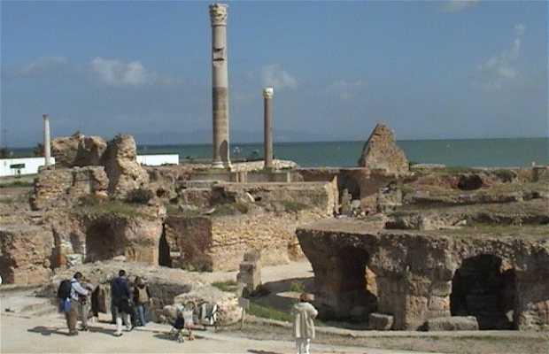 Las termas de Cartago