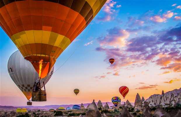 Viaje en Globo en Capadocia