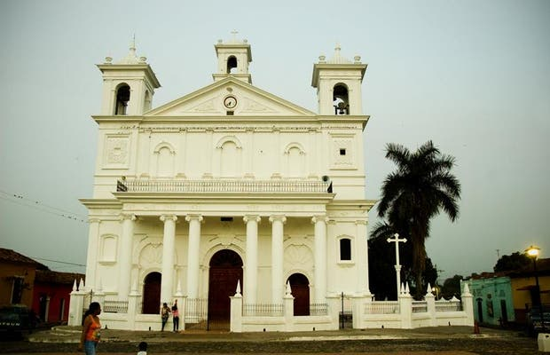 Plaza Central de Suchitoto