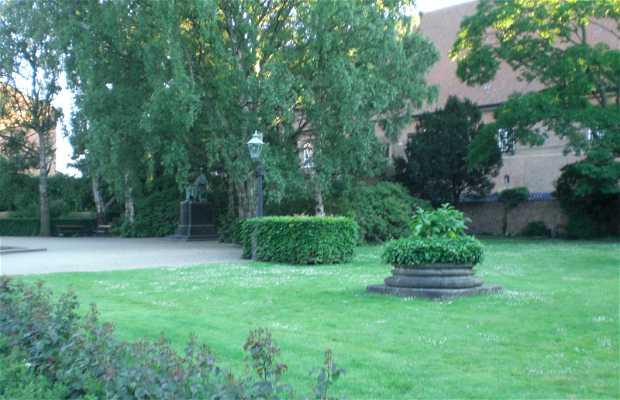 Jardins de la bibliothèque royale
