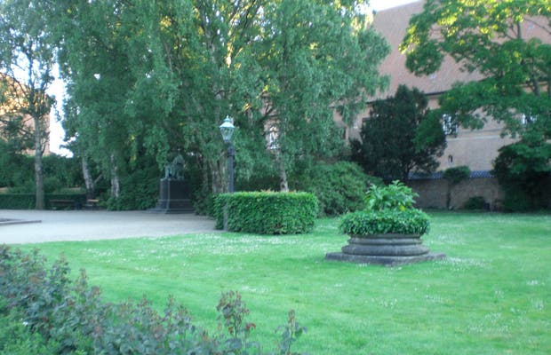 The Royal Library gardens
