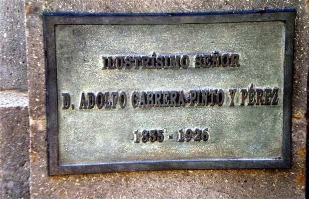 Monument to Adolfo Cabrera Pinto