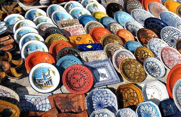 Cerámica en la medina de Túnez
