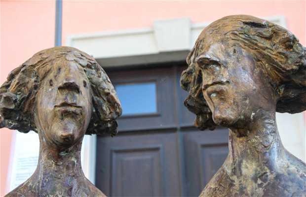 Esculturas de Karl Ulrich Nuss (Gemelas)