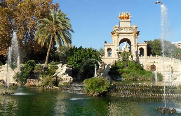 La cascade Parc de la citadelle