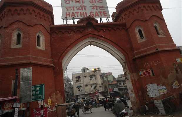 Puertas de la antigua ciudad de Amritsar