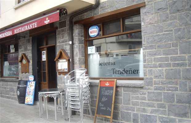 Cafetería Tendeñera