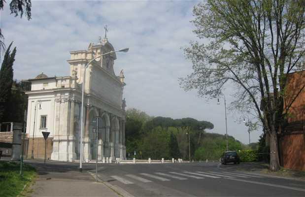 Vía Garibaldi y Monumento a Garibaldi