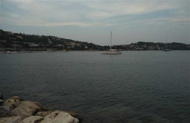 Vista desde el puerto de Villefranche