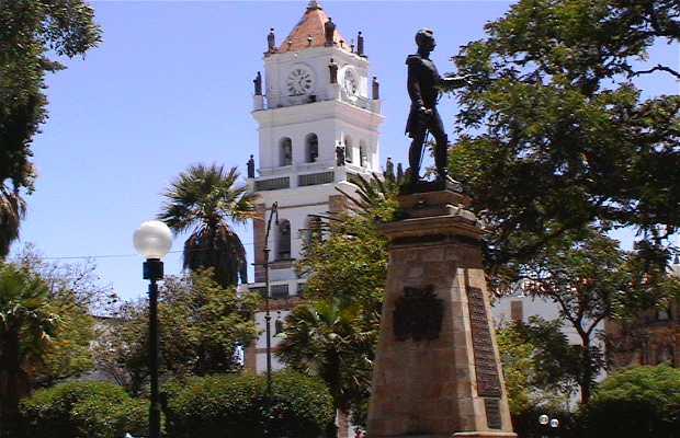 Parque central de Sucre