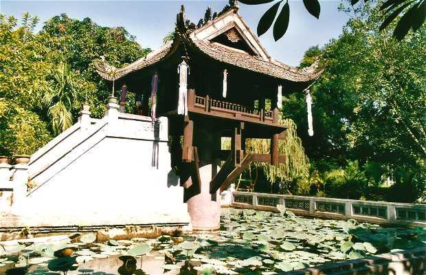 Pagoda Pilar Único - Chua Mot Cot