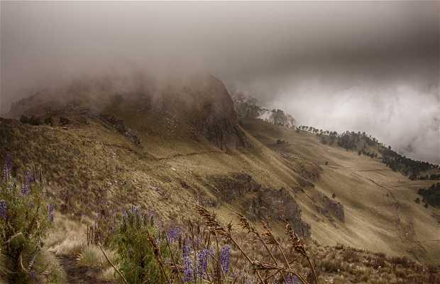 Volcan Iztaccíhuatl