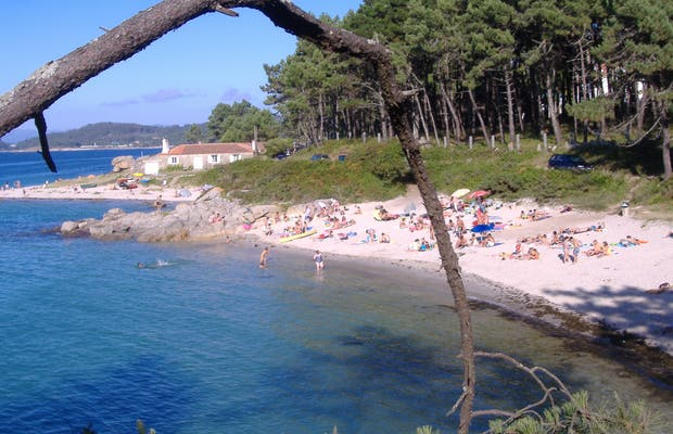 Barreiriño beach