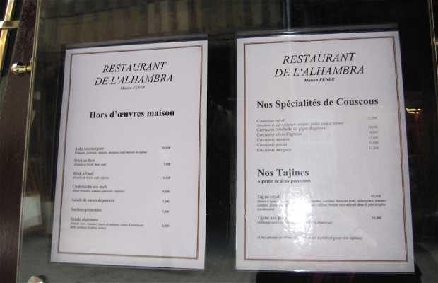Restaurant de l'Alhambra