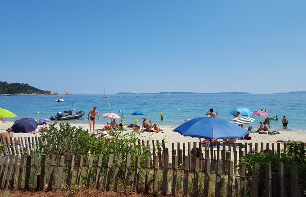 The Cavalière Beach, Le Lavandou, France