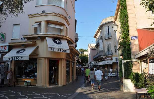 Centro viejo Sainte Maxime