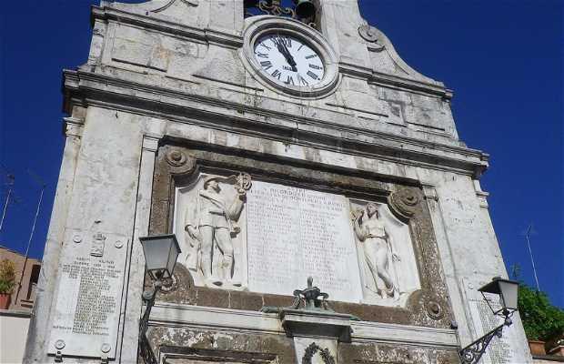 Torre dell'orologio a Sutri