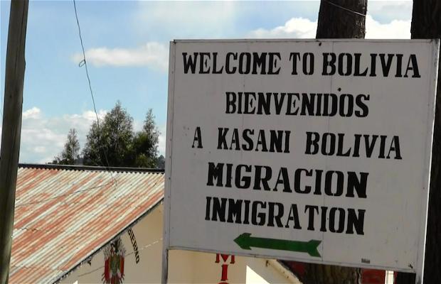 Frontera terrestre Perú - Bolivia