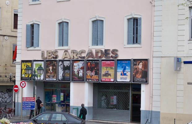 Cine Les Arcades y Les Arcades bis, Alès, Francia