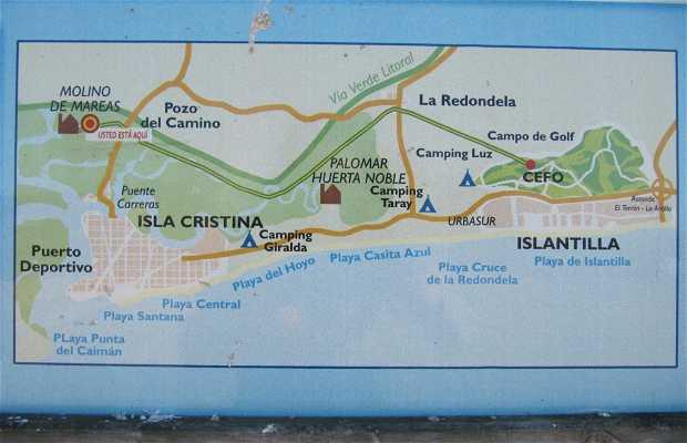 PR-132 path Molino Mareal-Islantilla