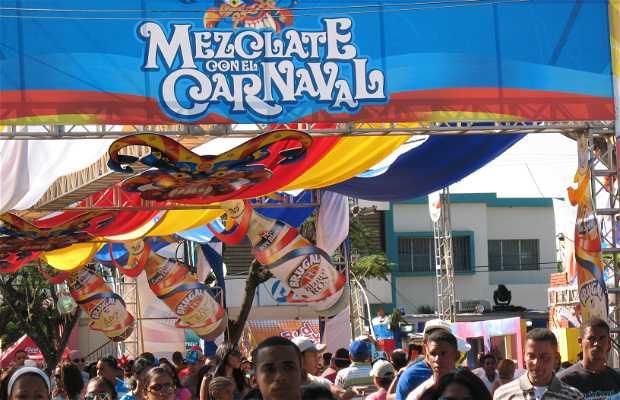 Carnaval dominicano, carnaval de La Vega. Rep. Dom.