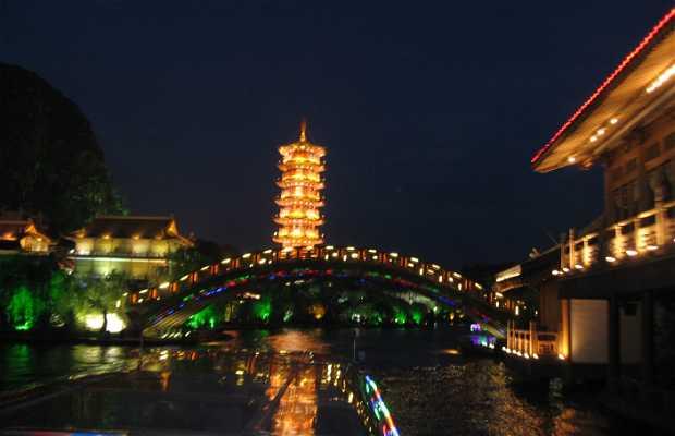Paseo en barco por Guilin