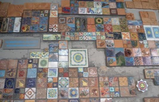 Les mosaïques de Riomaggiore