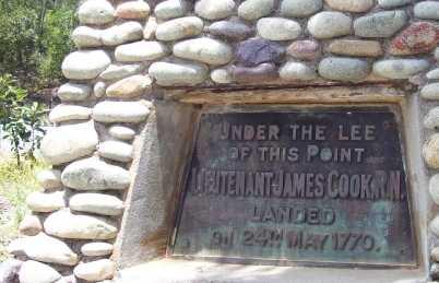 Monumento al Capitan Cook
