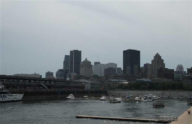 Le vieux port de Montréal