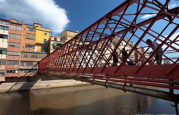 El Puente Eiffel - Puente les Peixateries Velles
