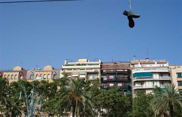 Passeig de Lluis Companys a Barcellona