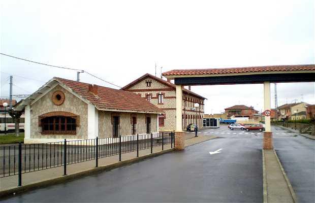 Stazione dei treni di Sahagún