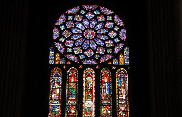 Vidrieras de la Catedral de Chartres